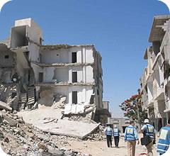 Gaza después de los bombardeos del 2008 y 2009