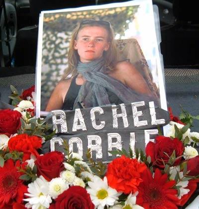Rachel Corrie, activista por la paz.