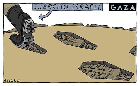 Gaza pisoteada por el ejército israelí