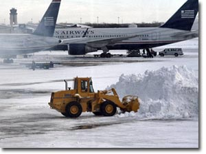 Aeropuerto helado