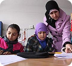 Una joven profesora inspira a sus alumnos