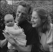 Brigitta y sus padres